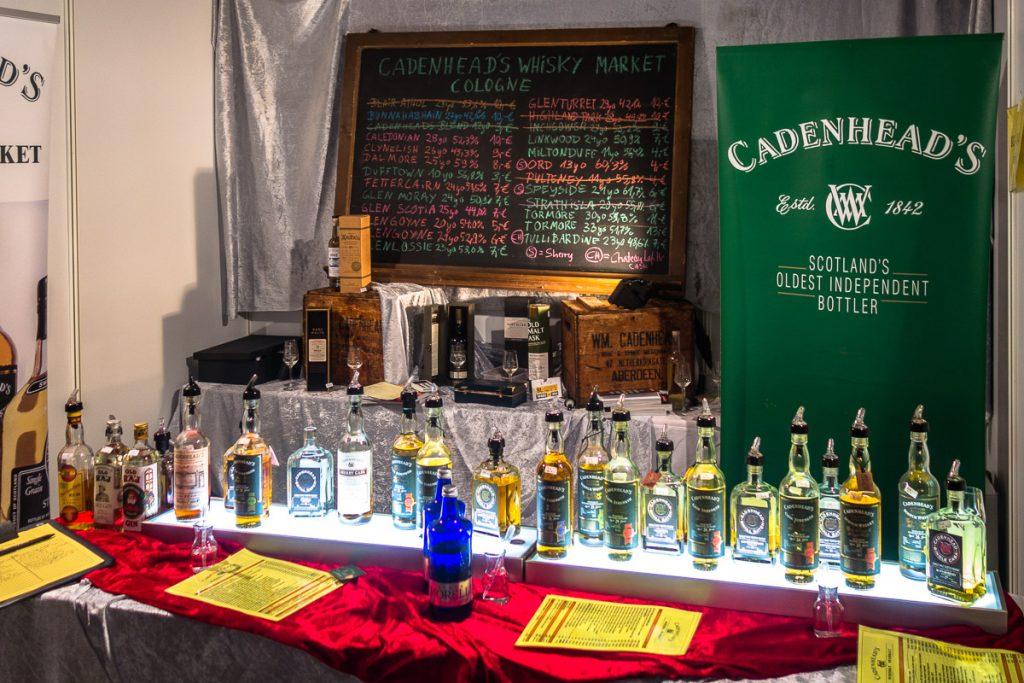 Cadenhead's auf der Finest Spirits 2018