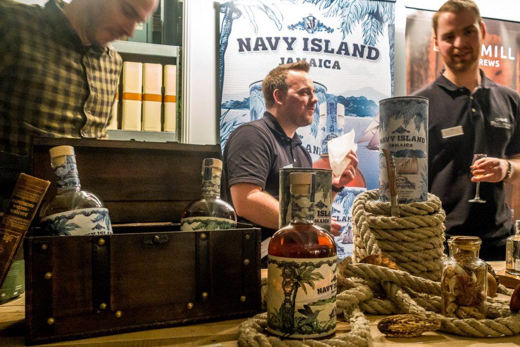 Navy Island auf der Finest Spirits 2018