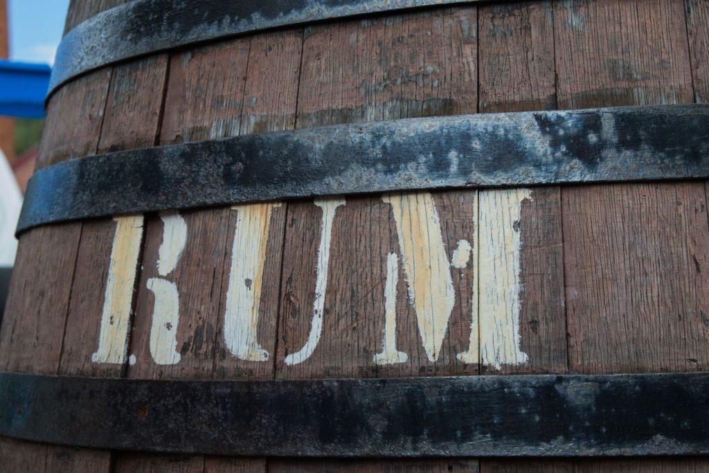 Rum-Fass