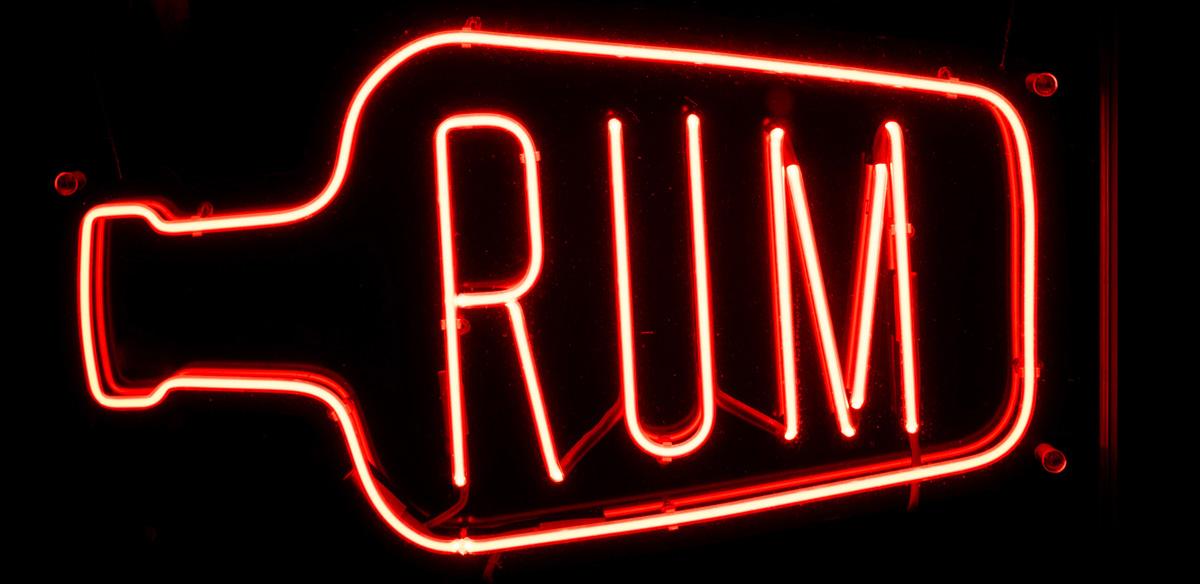 Rum-Sign
