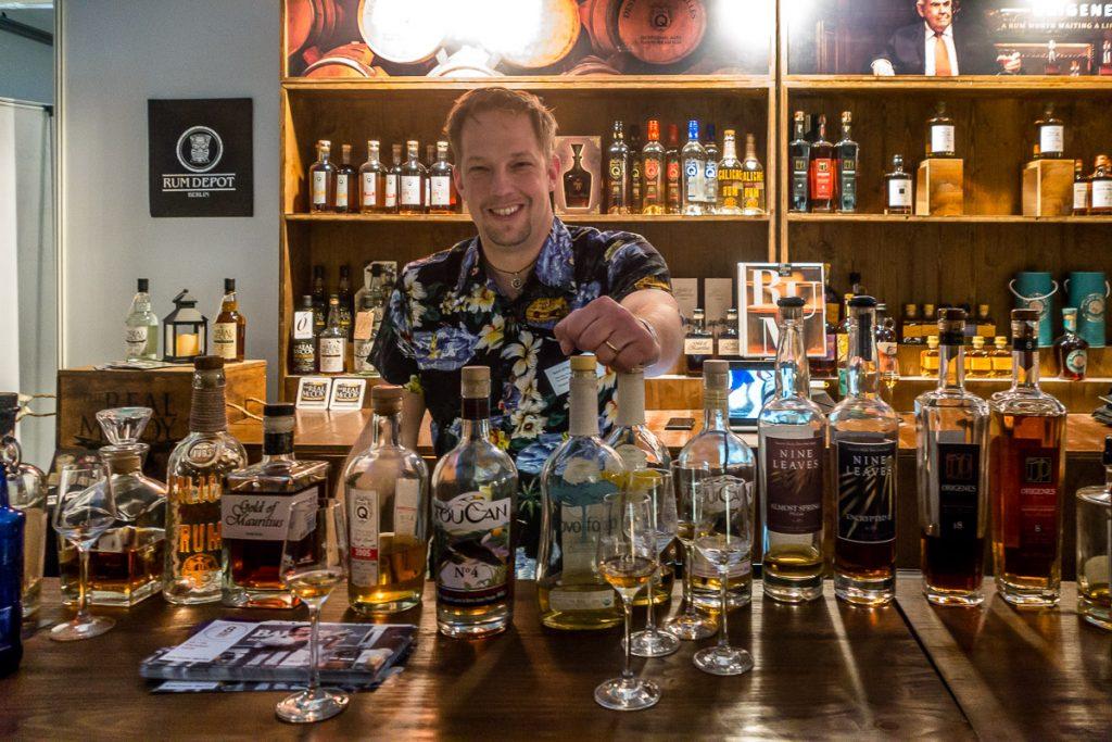 Spirit of Rum auf der Finest Spirits 2018